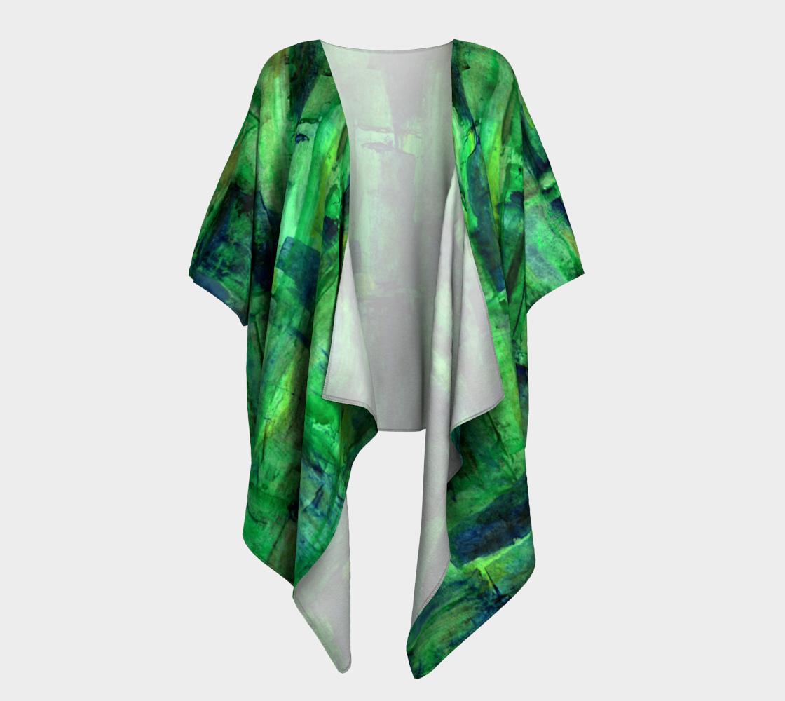 Aperçu de Mayan Dream Draped Kimono