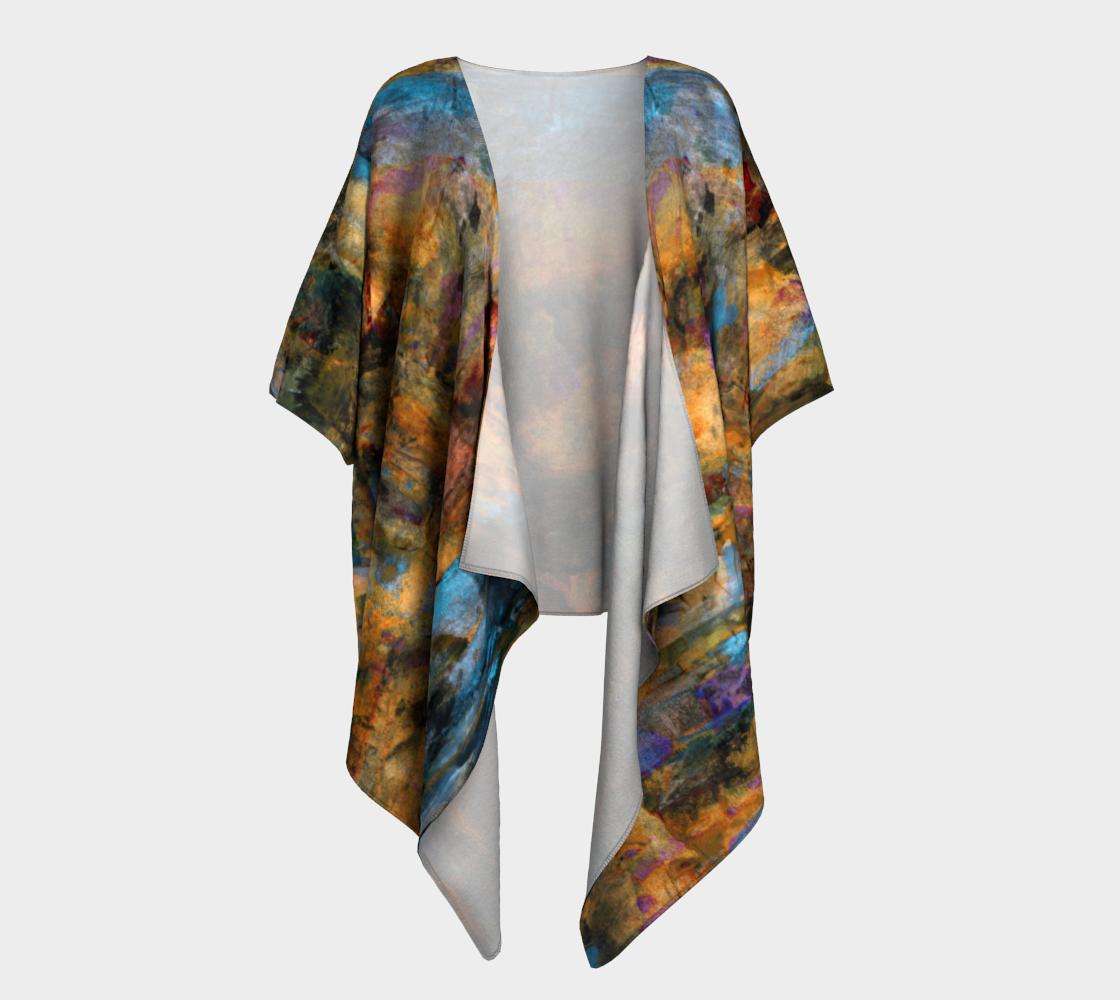 Sleepwalk Draped Kimono preview