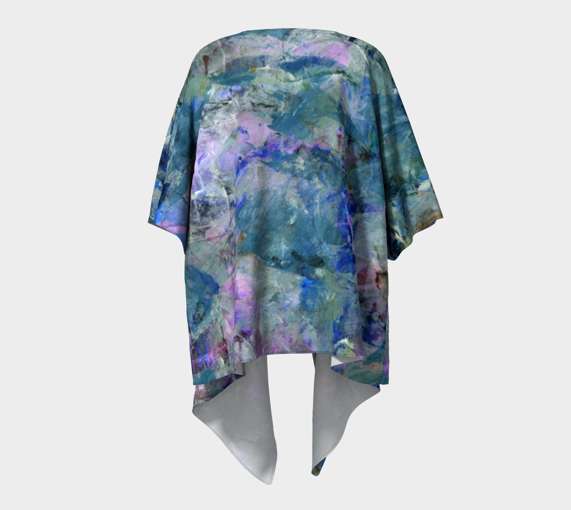 Jungle Stream Draped Kimono preview #4