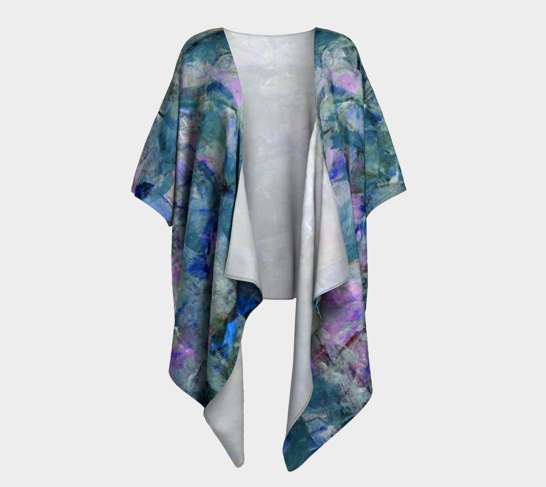 Jungle Stream Draped Kimono preview #1