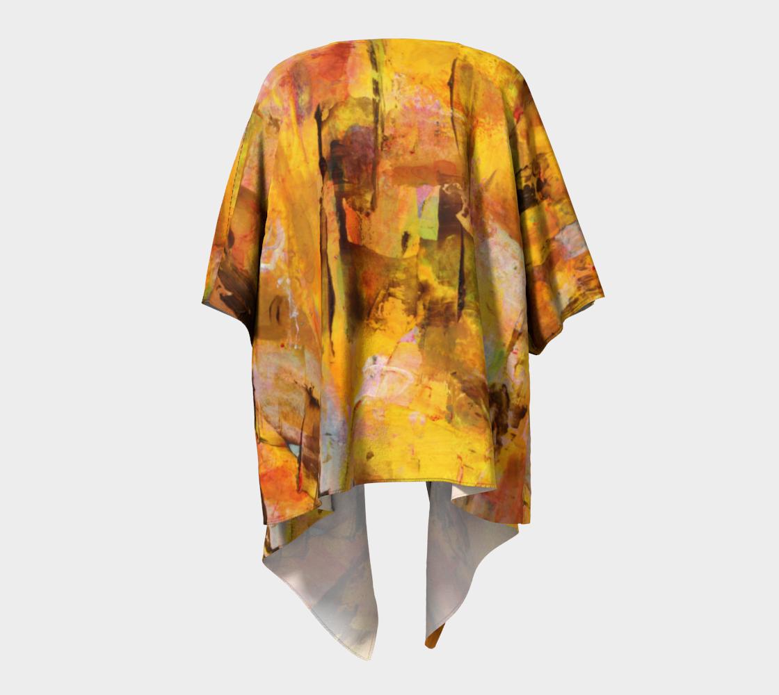 Autumn Draped Kimono preview #4