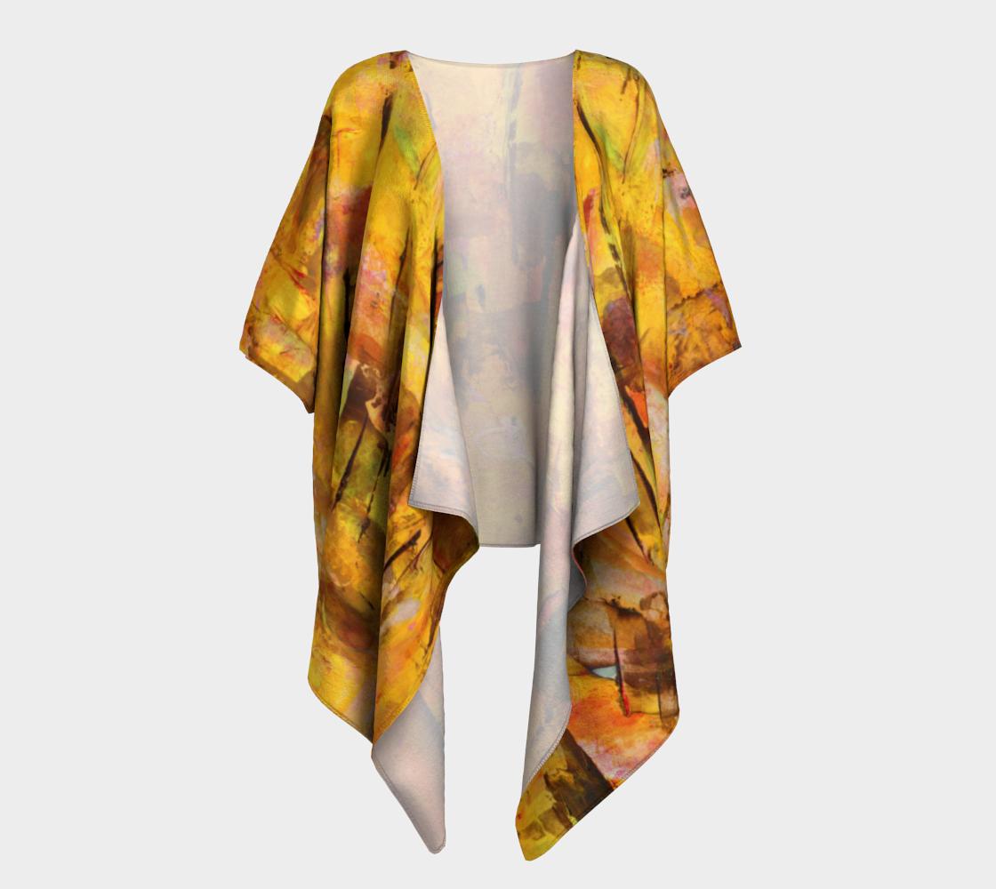 Autumn Draped Kimono preview #1
