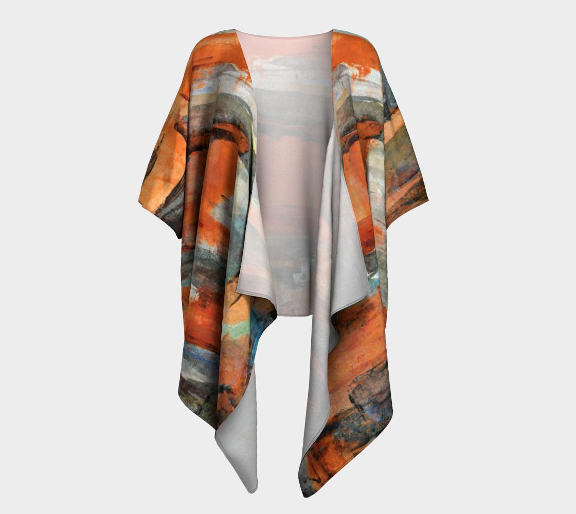 Aperçu de October Draped Kimono