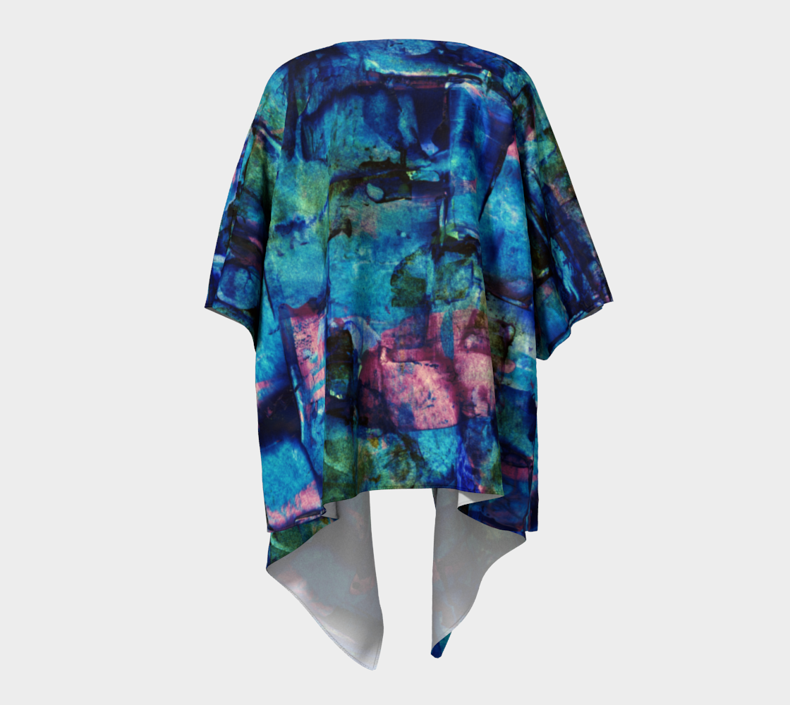 The Blues Draped Kimono preview #4