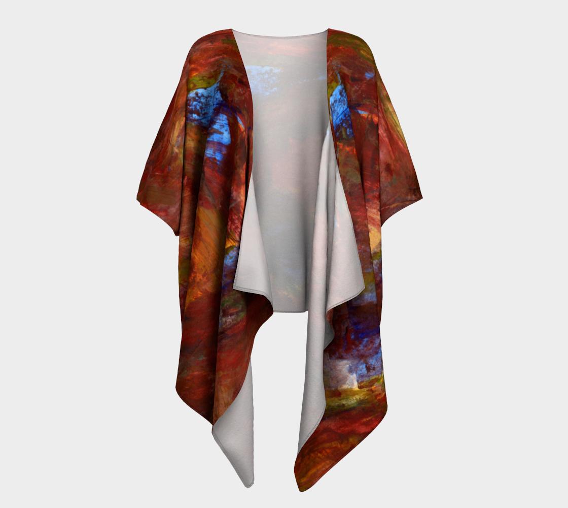 Swish Draped Kimono preview