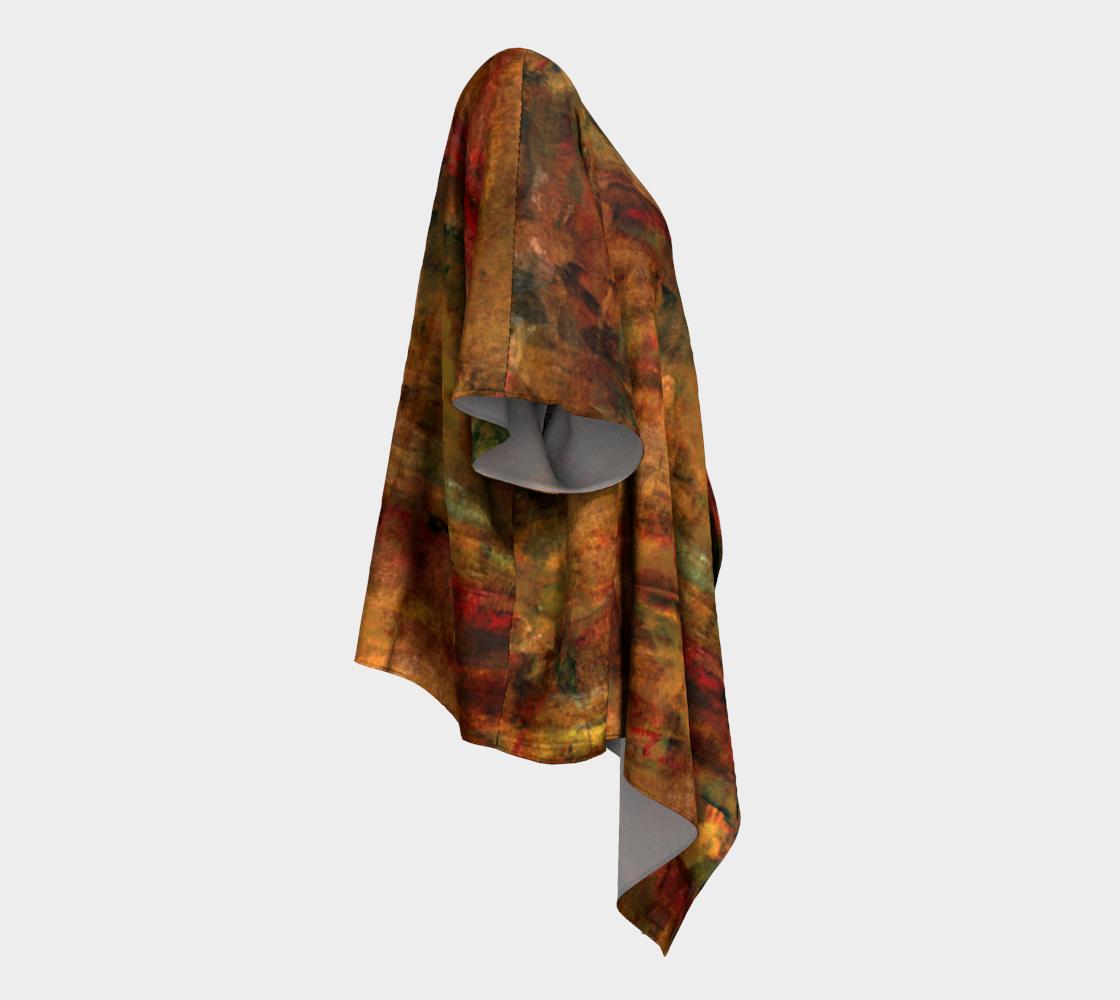 Persian Night Draped Kimono preview #3