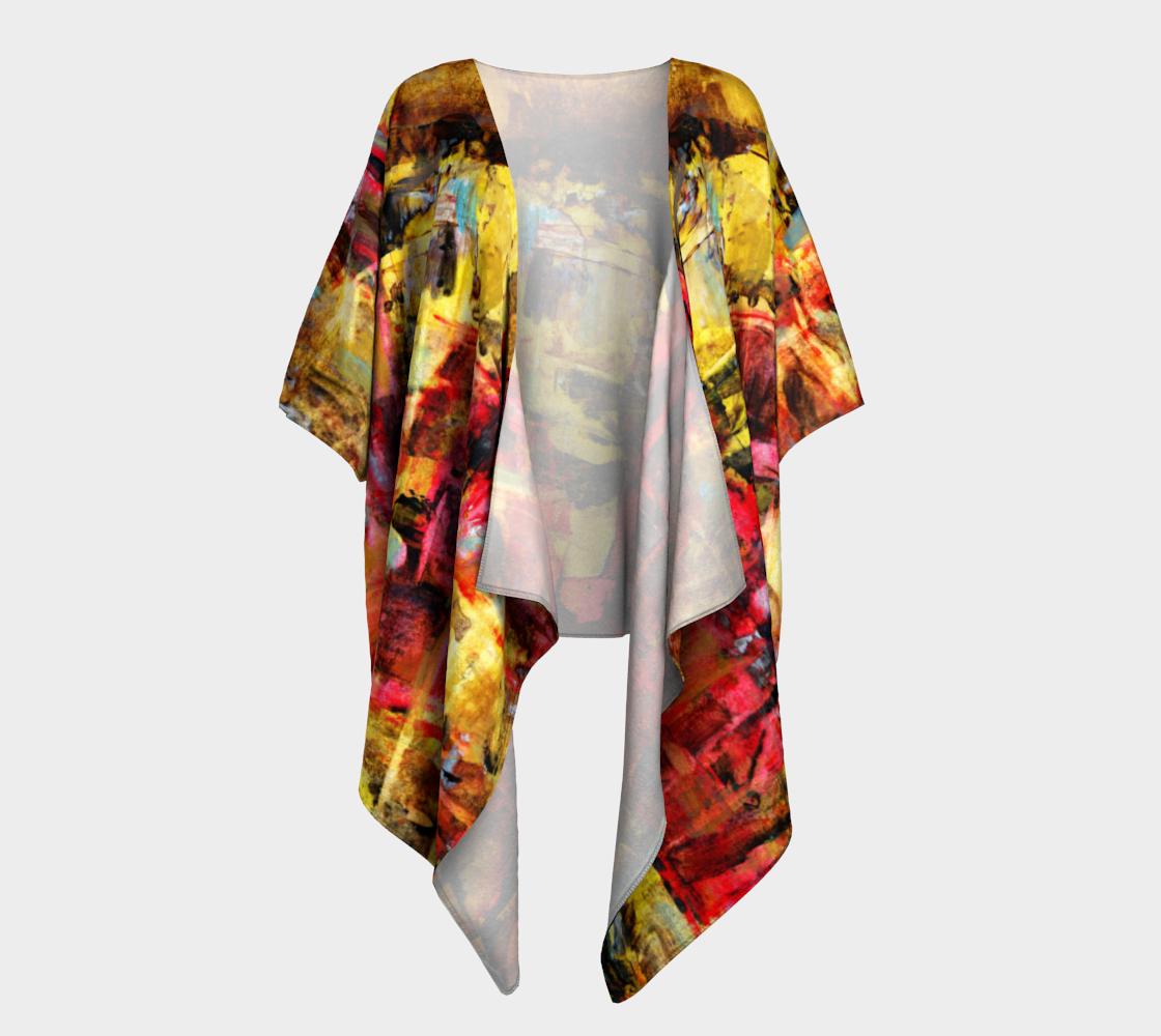 Aperçu de Party Time Draped Kimono