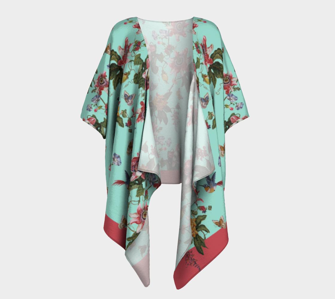 Fruit de la Passion Draped Kimono preview