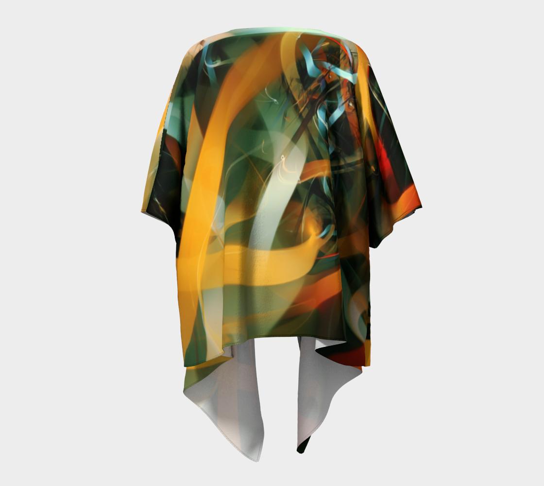 Charging Up Draped Kimono preview #4