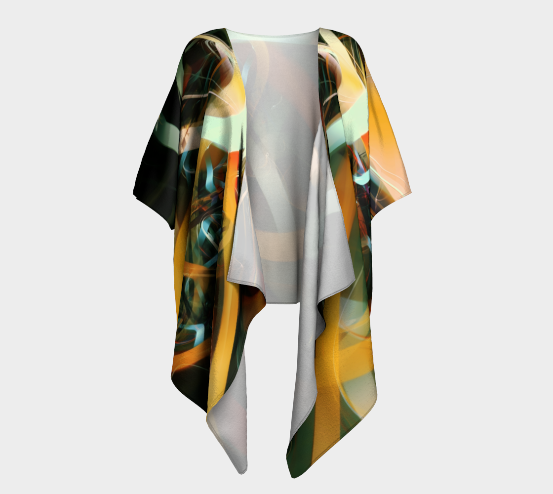 Charging Up Draped Kimono preview #1