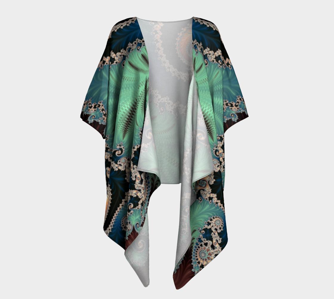 AZURE Draped Kimono preview