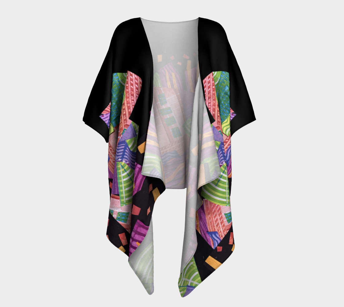 Draped Kimono, Celery and Spice Collage preview