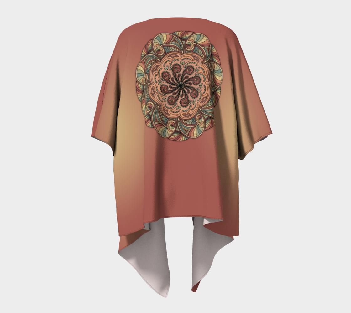 Moroccan Shells Mandala - Kimono preview #4