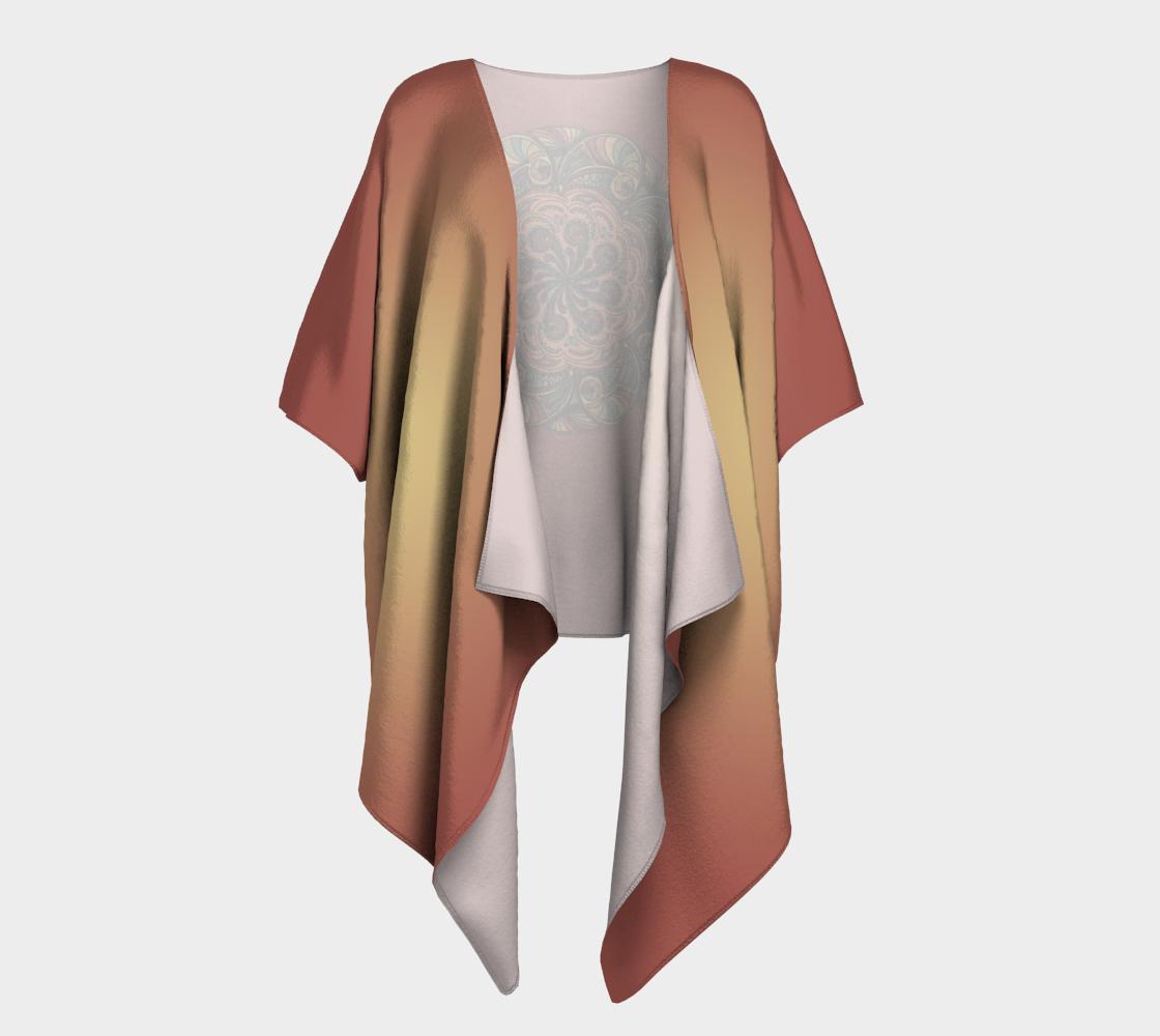 Moroccan Shells Mandala - Kimono preview