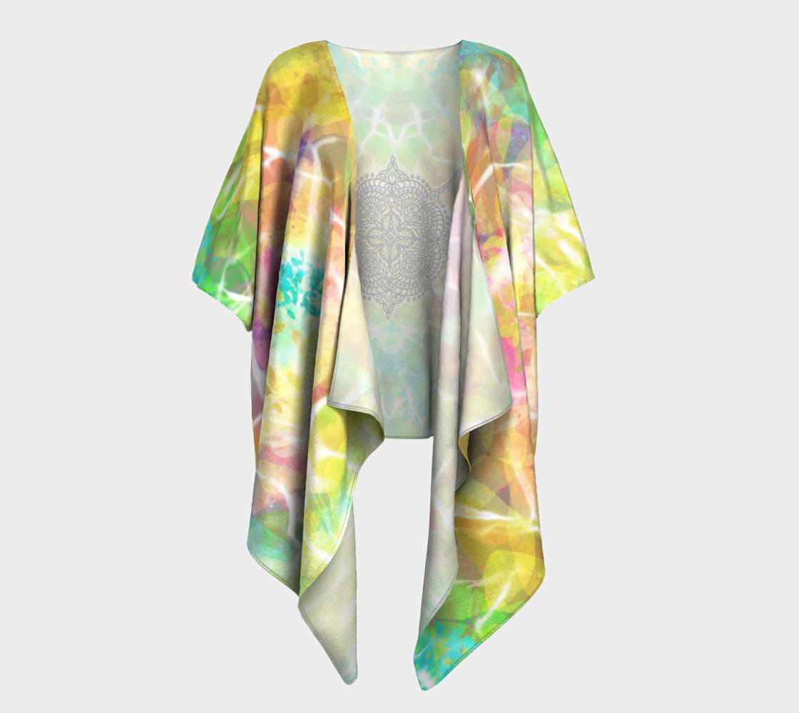 Mandala in Spring - Kimono preview