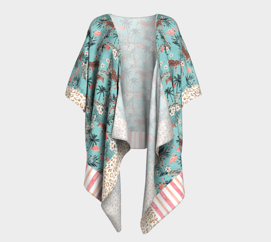 Aperçu de Leopard Kimono