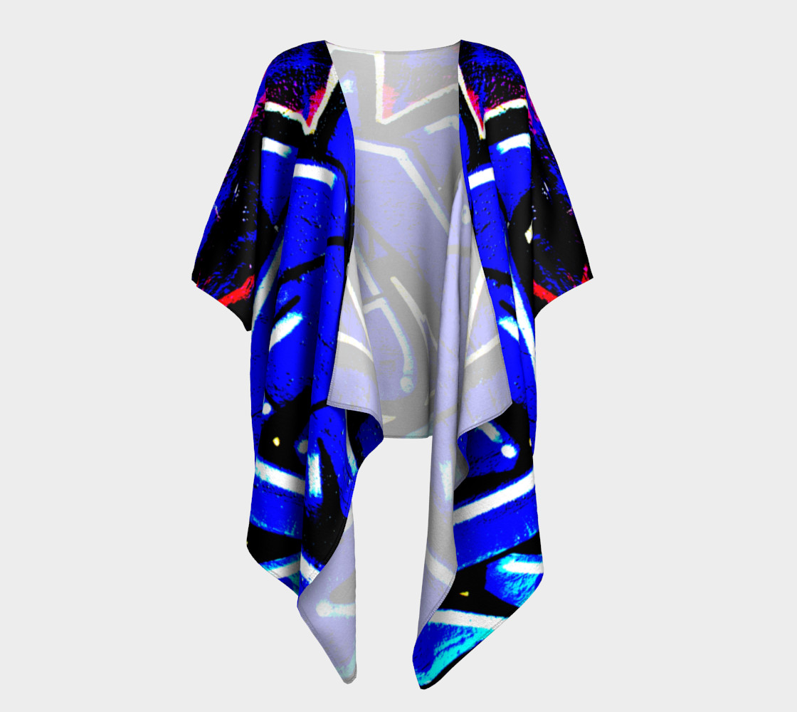 Graffiti 13 Draped Kimono preview