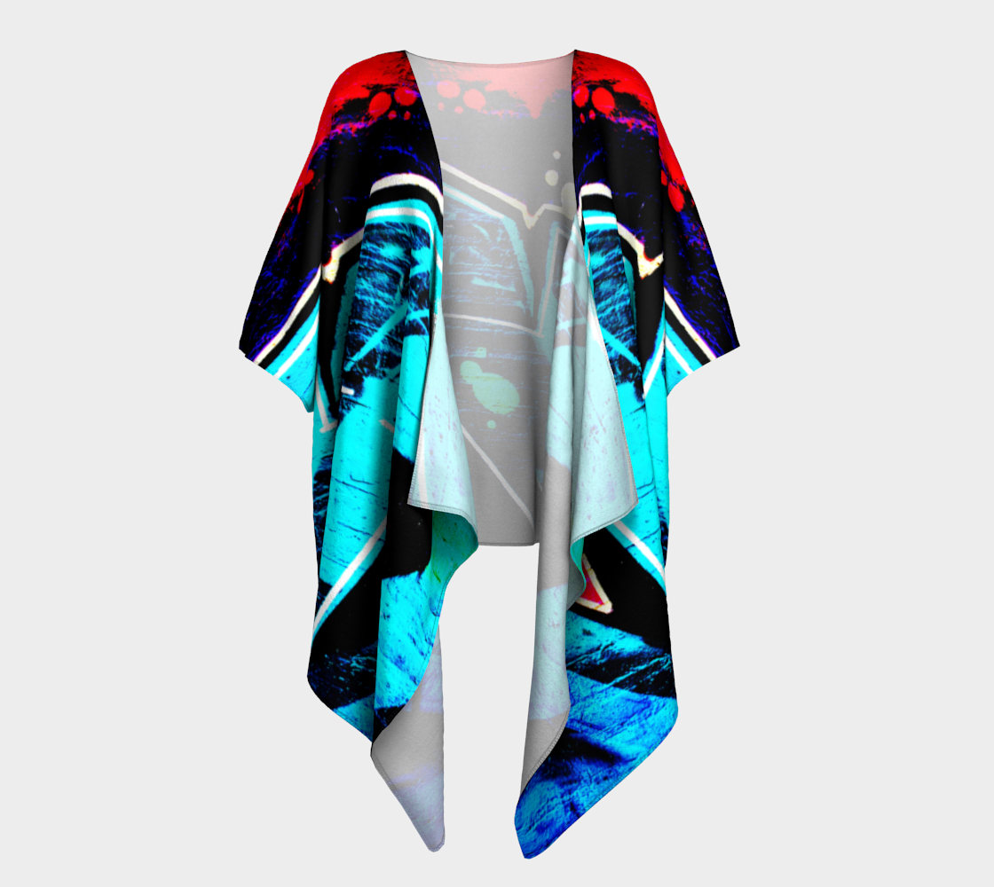 Graffiti 14 Draped Kimono preview