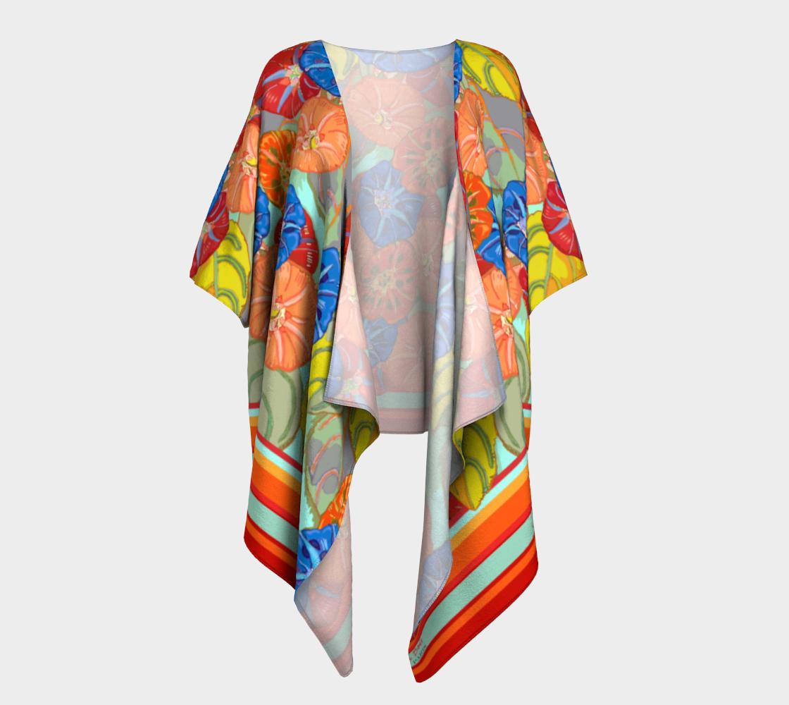 Hot Floral Draped Kimono preview