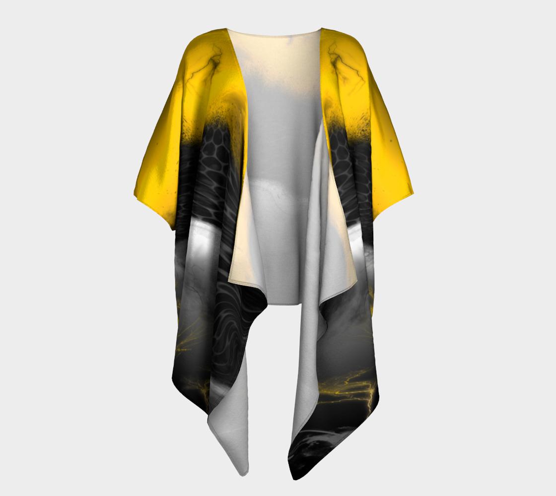 Another Realm Draped Kimono preview