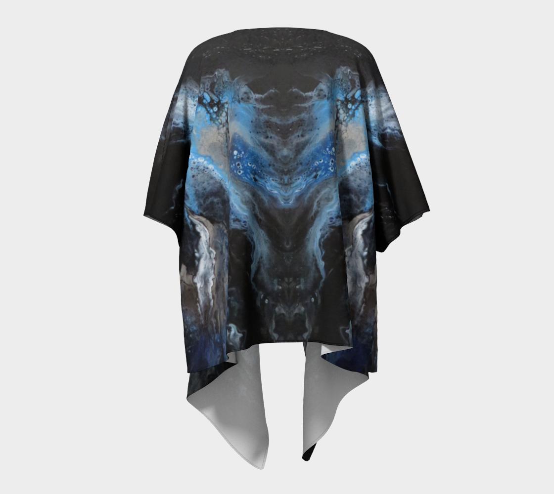 Aperçu de Les eaux déchainées - Kimono drapé #4