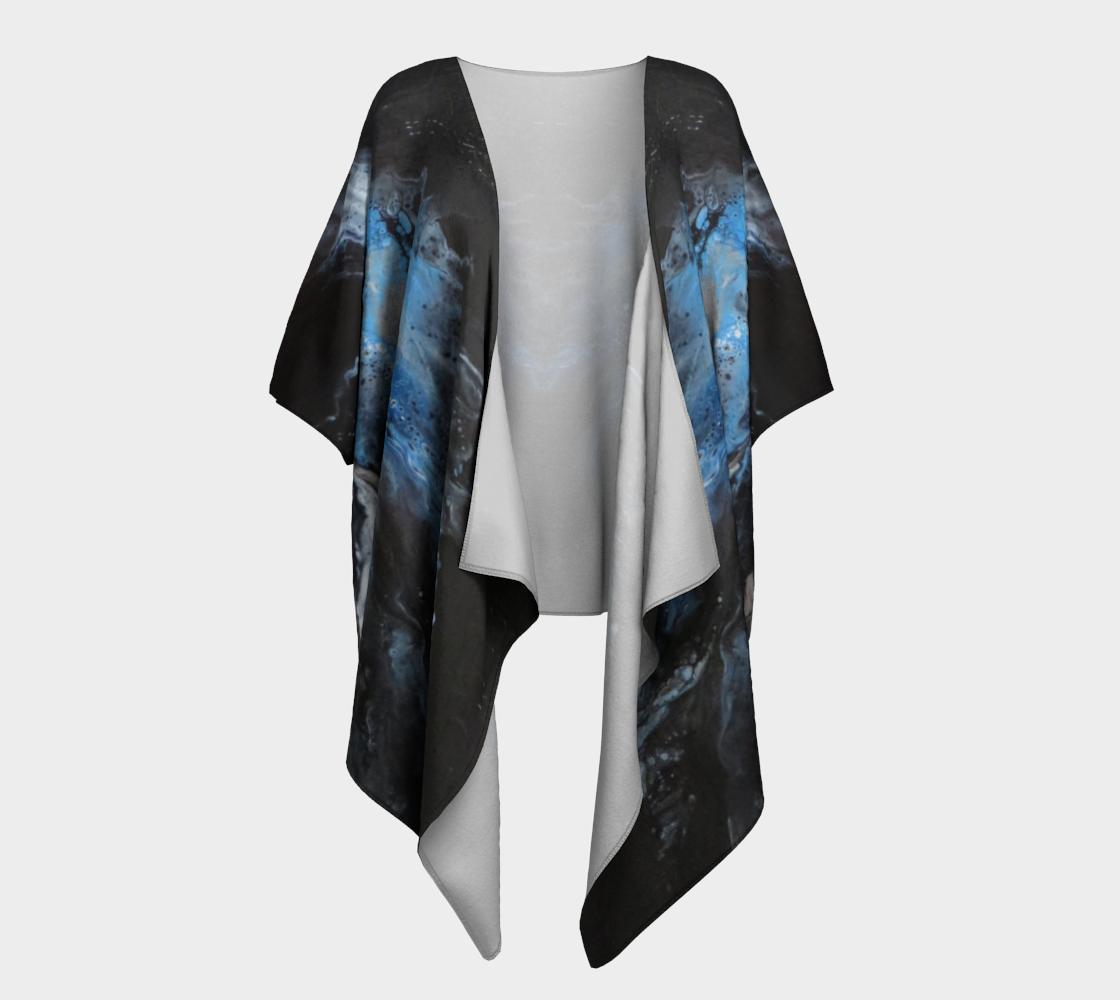 Les eaux déchainées - Kimono drapé preview