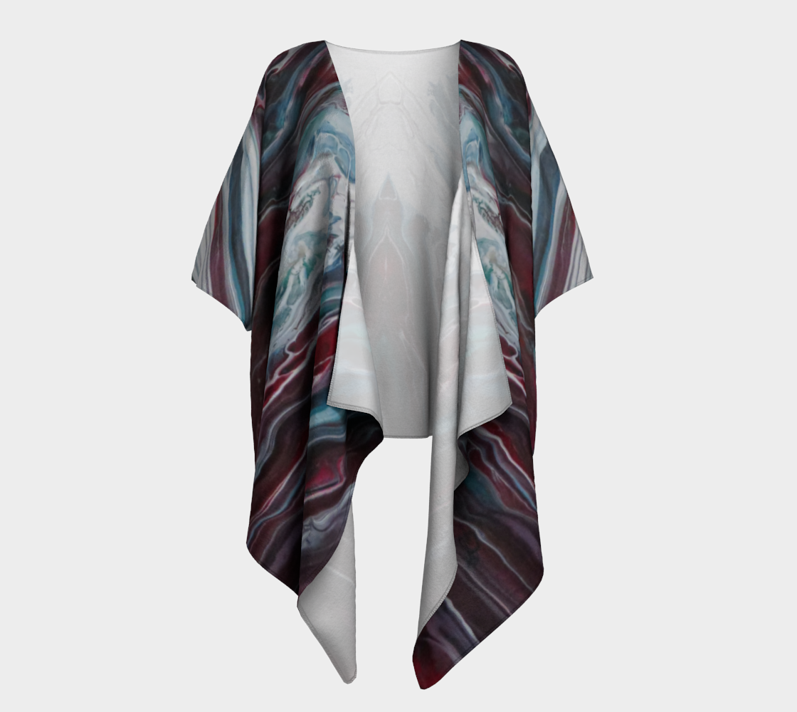 Aperçu de La fonte des éléments - Kimono drapé #1