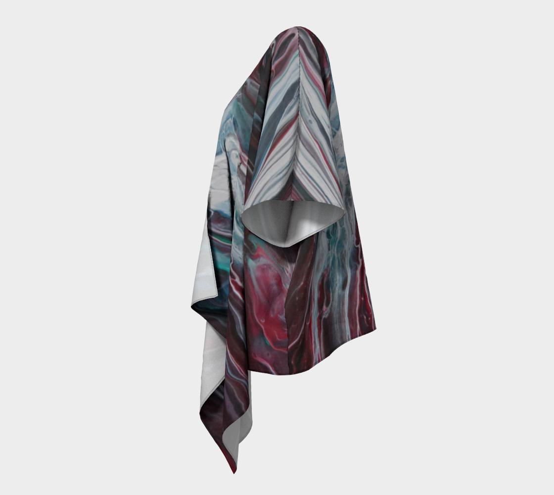 Aperçu de La fonte des éléments - Kimono drapé #2