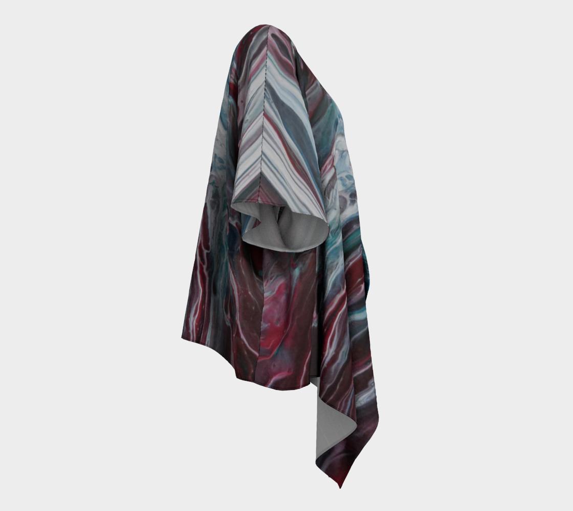 Aperçu de La fonte des éléments - Kimono drapé #3