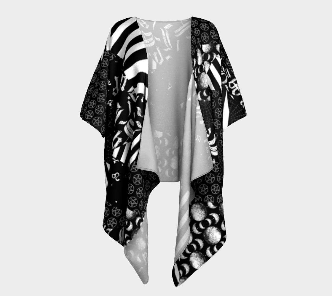 Goth Patchwork Kimono preview