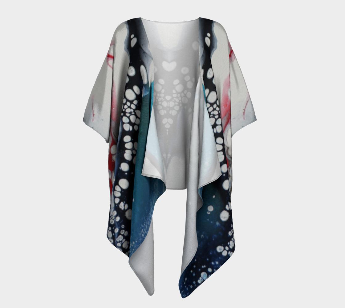 Aperçu de À cœur ouvert - Kimono drapé