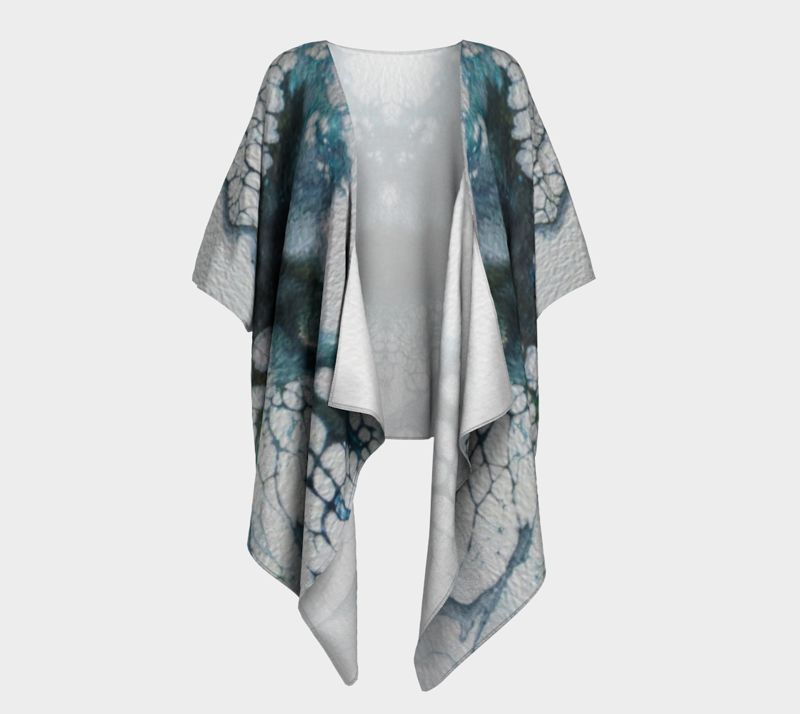 Aperçu de L'envol du papillon - Kimono drapé