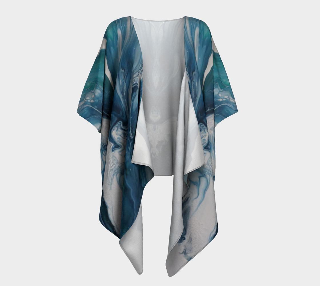 Aperçu de Écume de mer - Kimono drapé