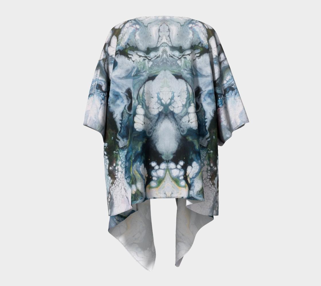 Aperçu de Le lys des glaces - Kimono drapé #4