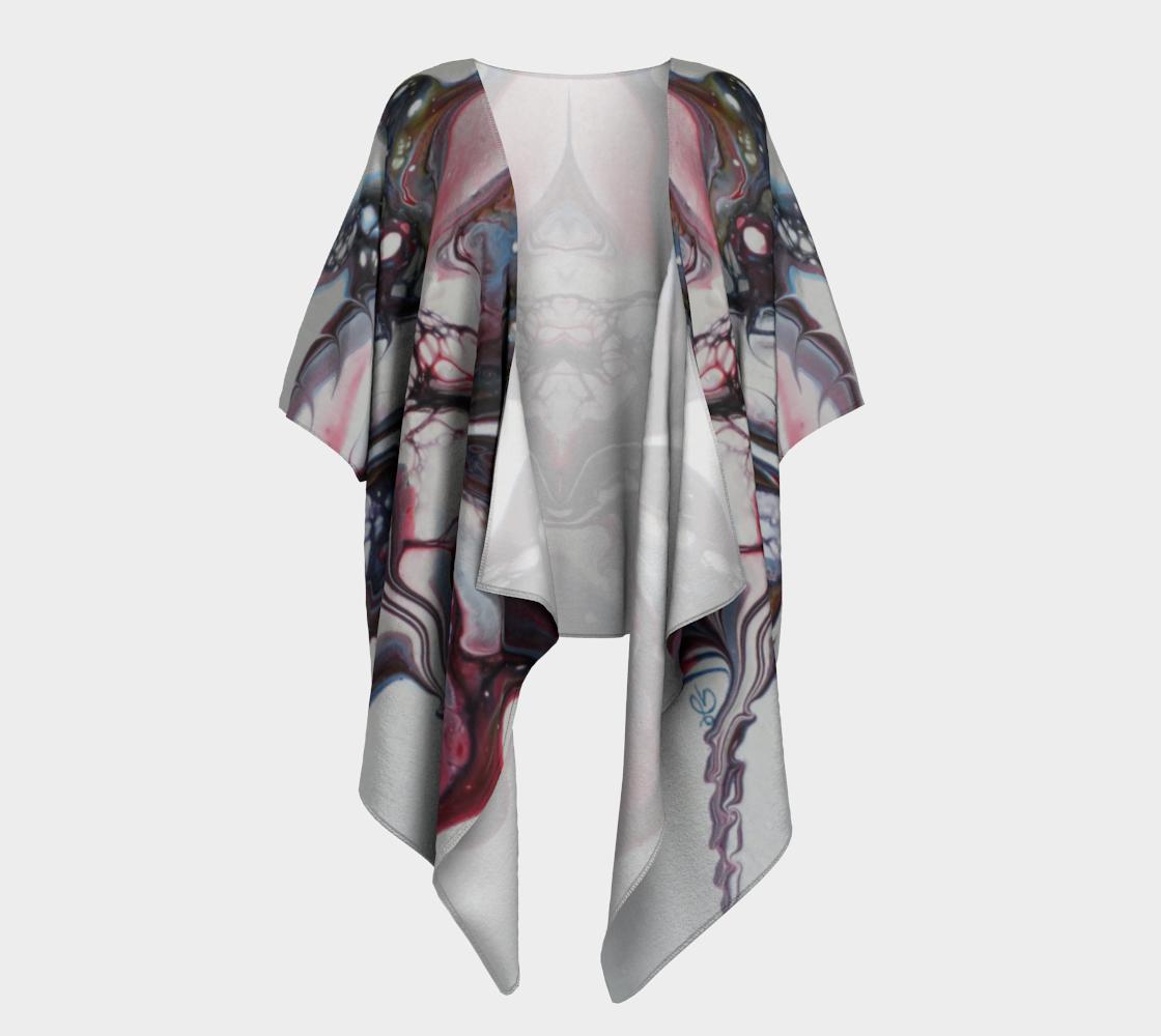 Aperçu de Fleur sauvage - Kimono drapé