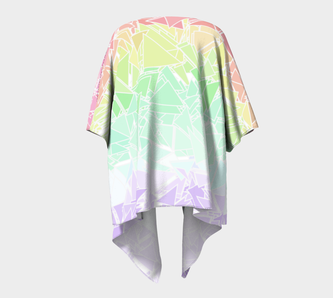Groovy Boho Triangle Rainbow, 50% of profits donated to the Trevor Project! preview #4