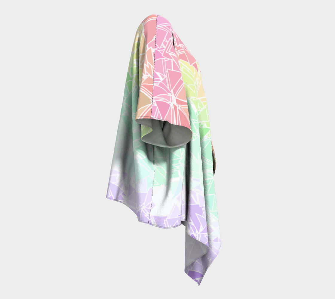 Groovy Boho Triangle Rainbow, 50% of profits donated to the Trevor Project! preview #3