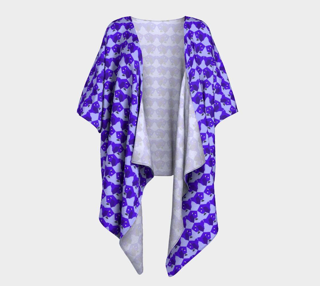 Purple birdy pattern preview