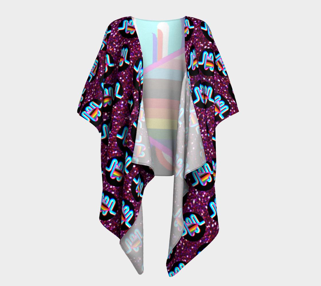 Harmony Machine Draped Kimono preview