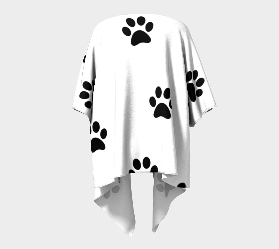pawnga line draped kimono preview #4