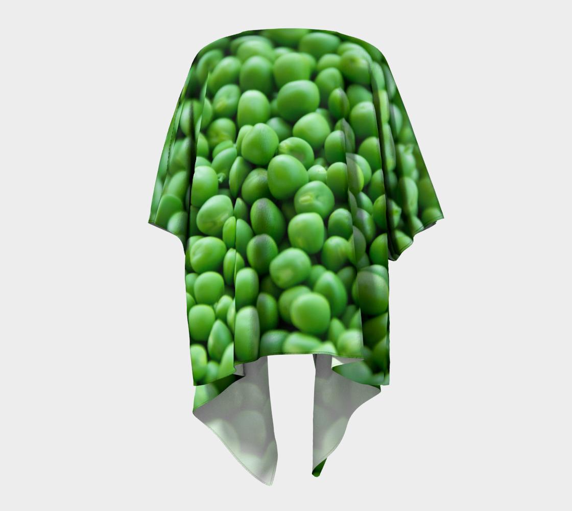 peas draped kimono preview #4