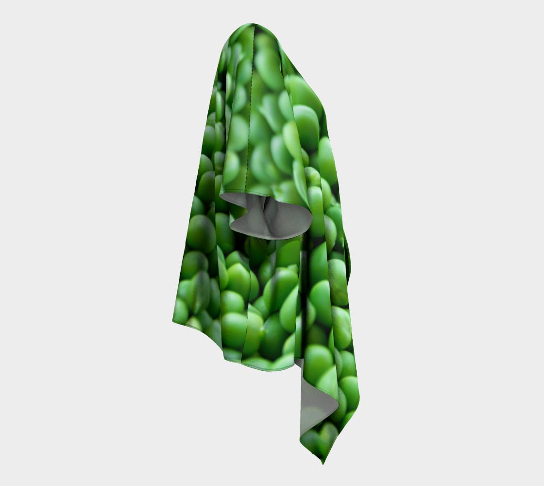 peas draped kimono preview #3