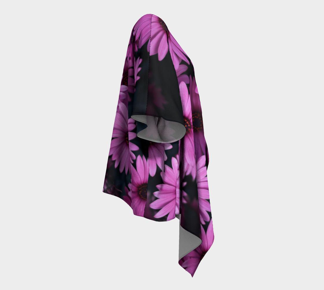 pericallis draped kimono preview #3
