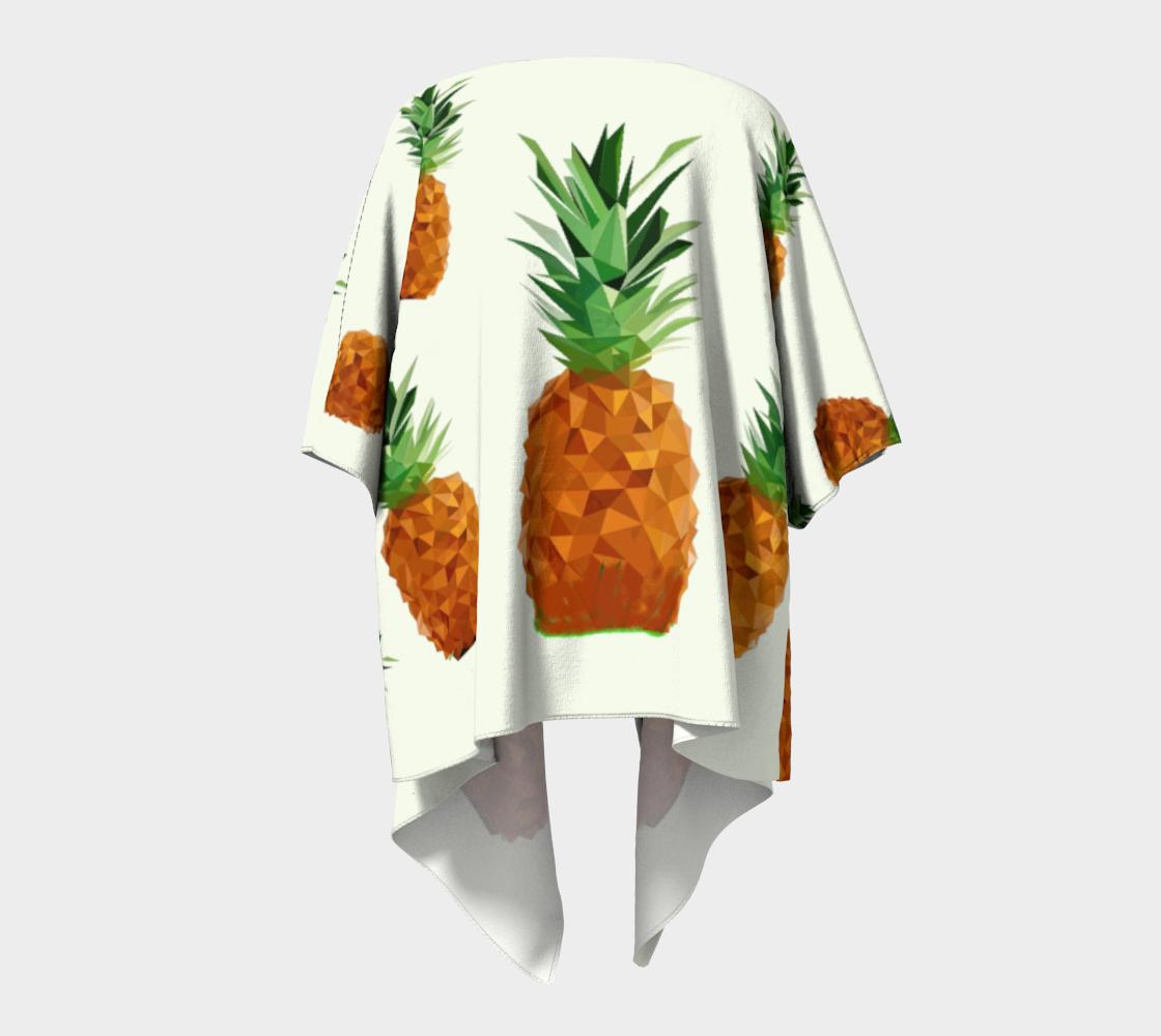 pineapple draped kimono preview #4