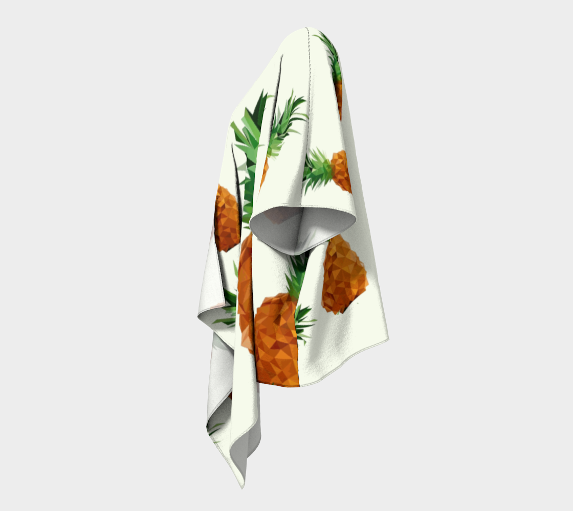 pineapple draped kimono preview #2