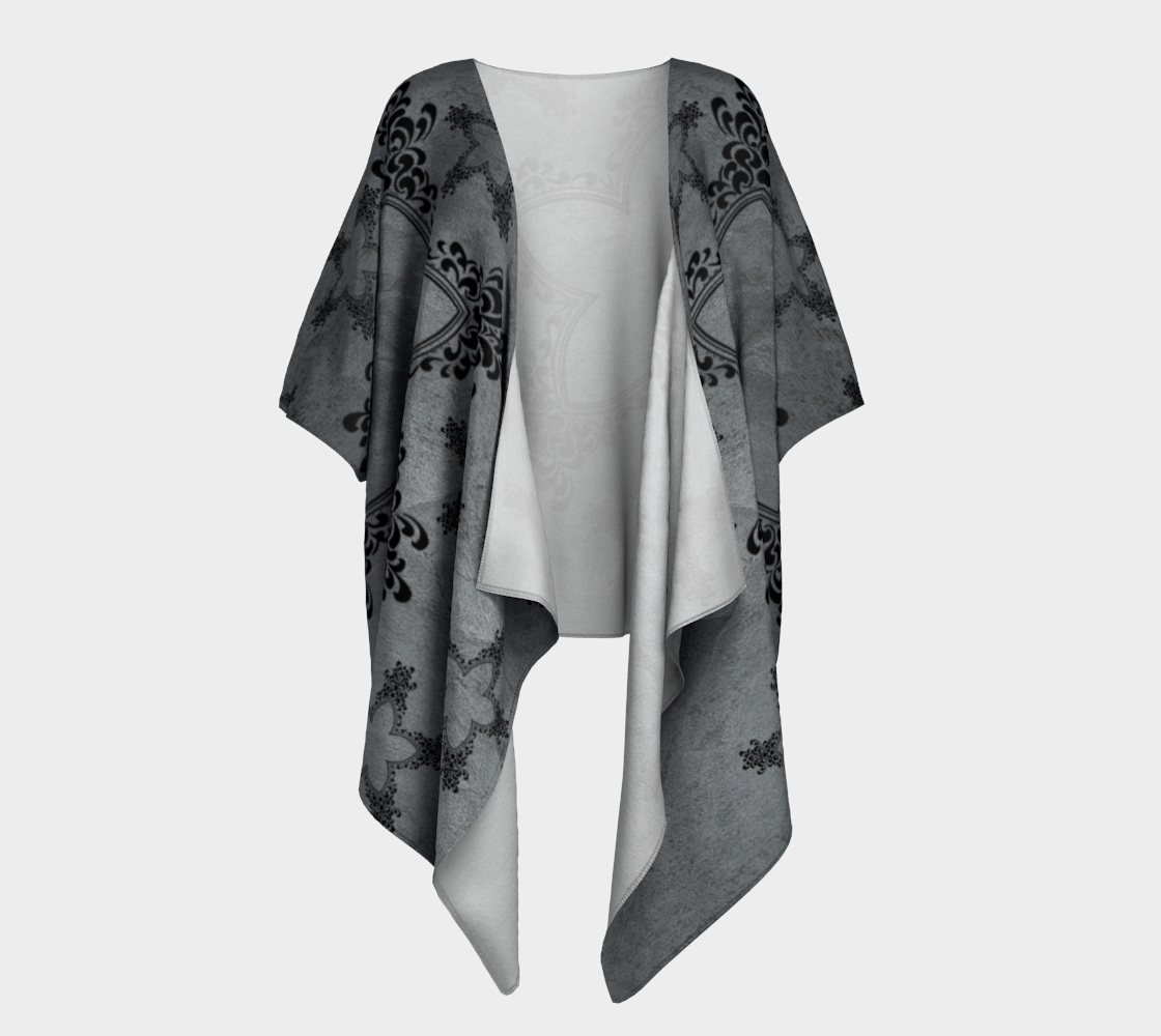 PNW stars draped kimono preview