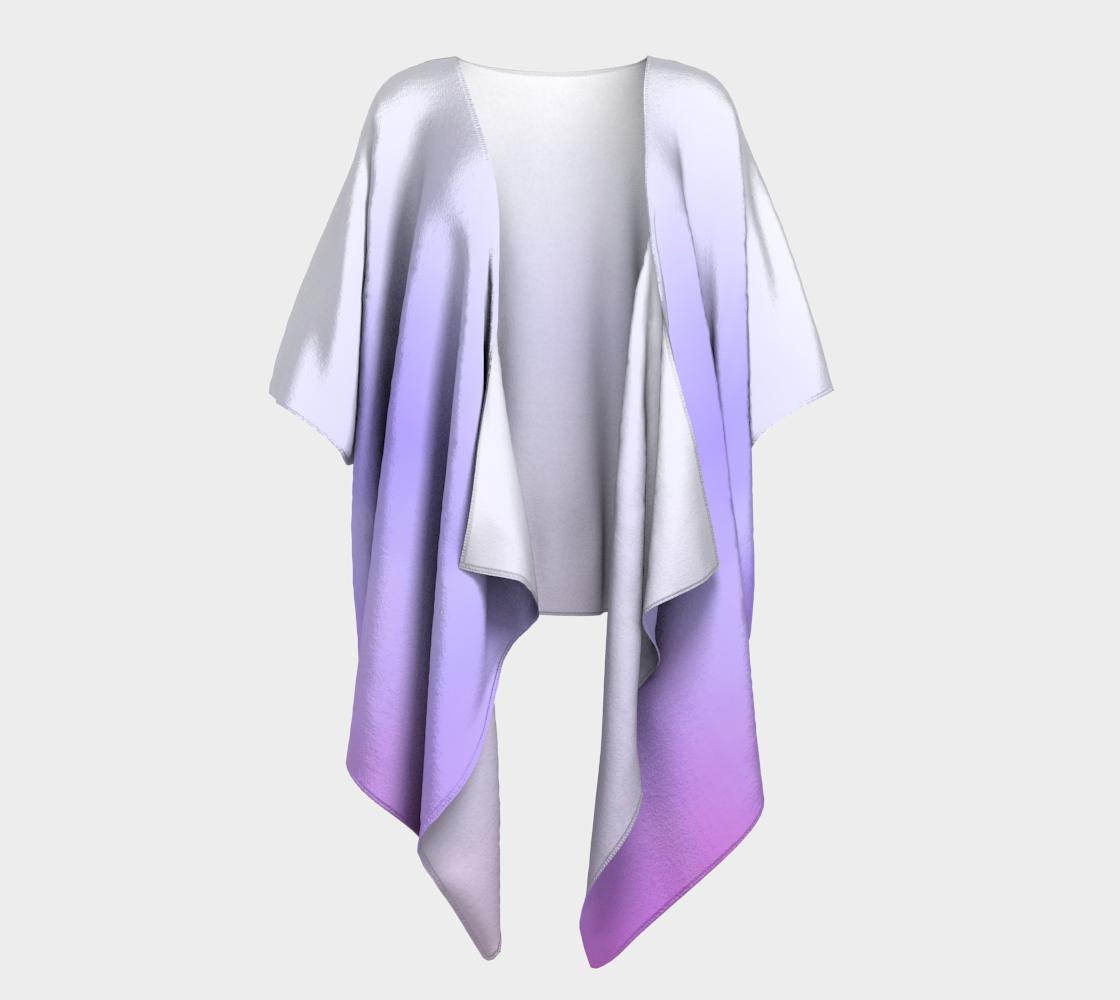 purple fog draped kimono preview