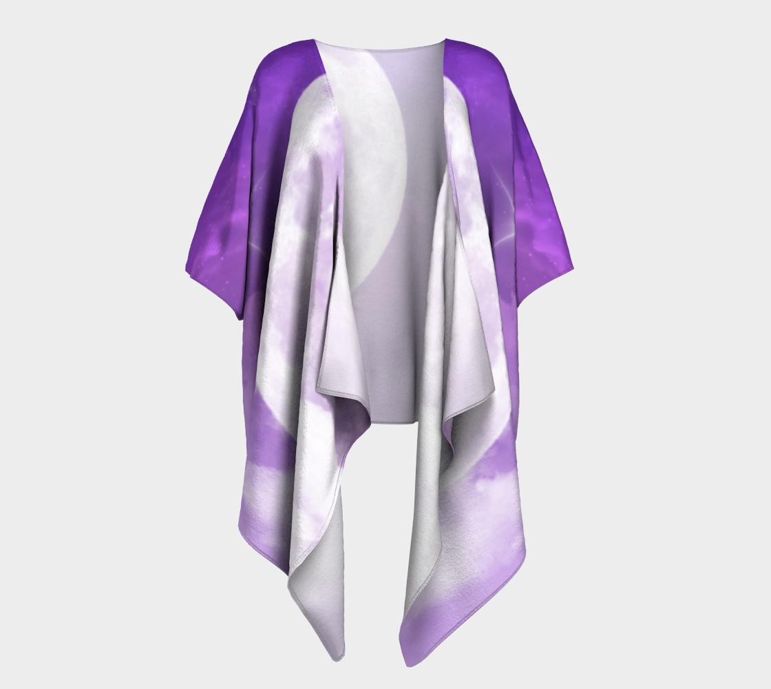 purple moon draped kimono preview