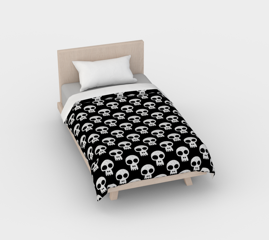 Skulls on Black preview