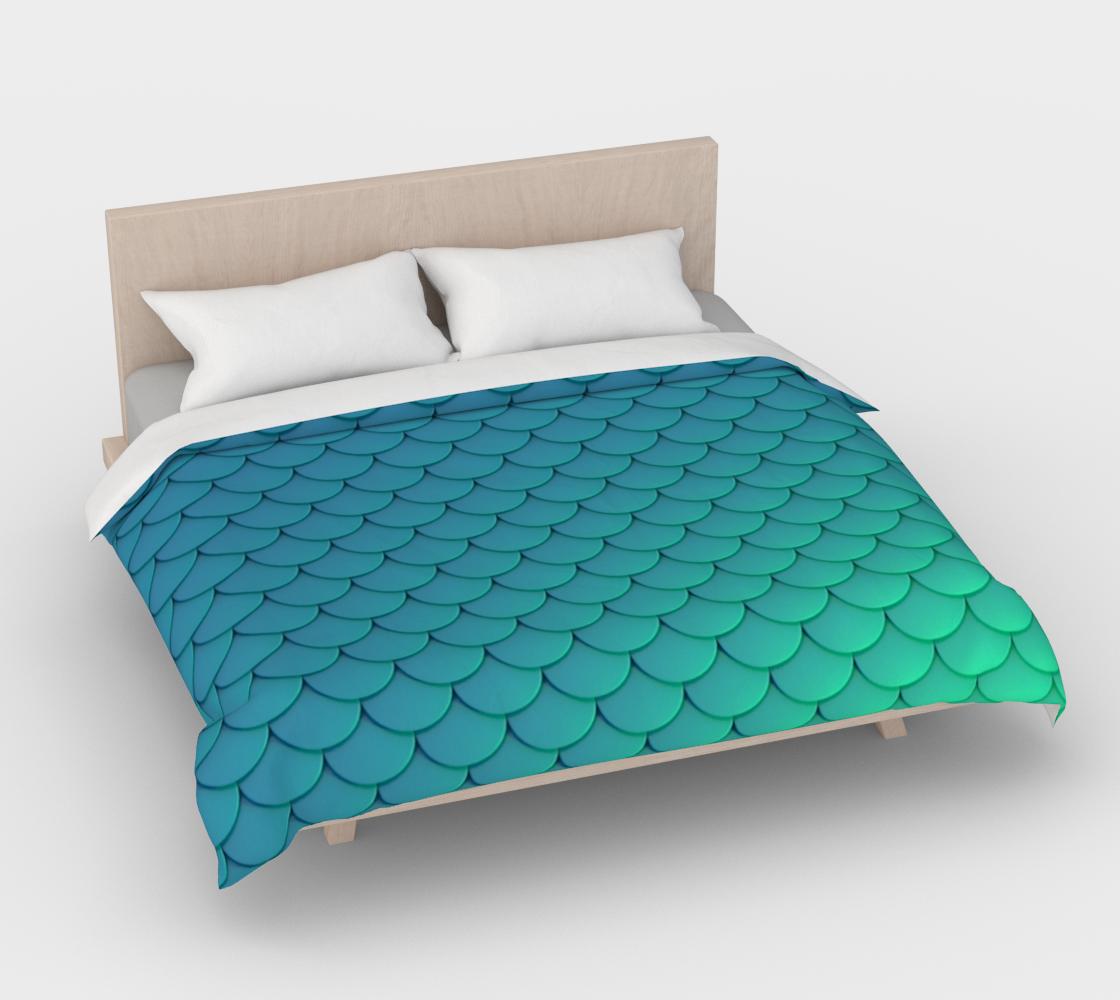 Mermaid Scales Aqua preview #4